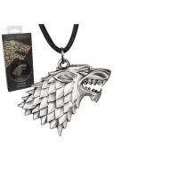 Game Of Thrones - Le Trône de fer pendentif avec chaînette Stark Sigil Costume