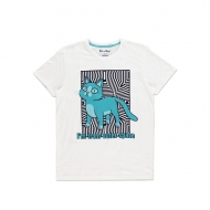 Rick et Morty - T-Shirt Outer Space Cat