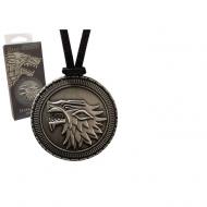 Game Of Thrones - Pendentif avec chaînette Stark Shield