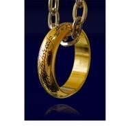 Le Seigneur des Anneaux - Réplique Anneau Unique (plaqué or)