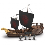 Game Of Thrones - Jeu de construction Mega Construx Black Series Targaryen Warship