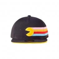 Pac-Man - Casquette Snapback Stripes