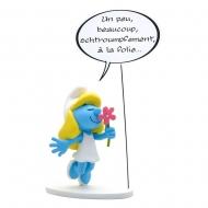 Les Schtroumpfs - Statuette Collectoys Collection Bulles Schtroumpfette 22 cm