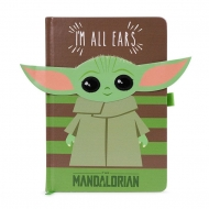 Star Wars The Mandalorian - Carnet de notes Premium A5 I'm All Ears Green
