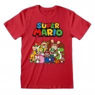 Nintendo - T-Shirt Super Mario Main Character Group