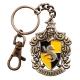 Harry Potter - Porte-clés métal Hufflepuff 5 cm