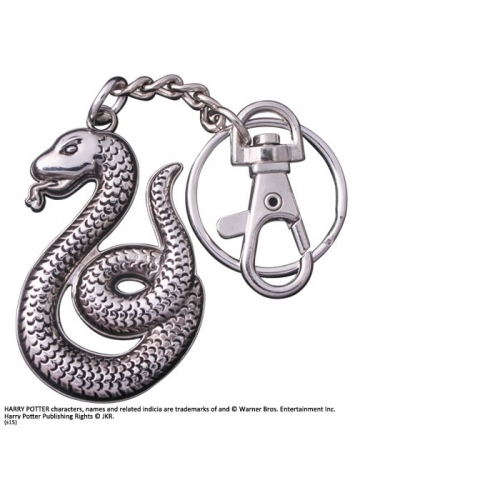 Harry Potter - Porte-clés métal Slytherin 7 cm