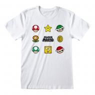Nintendo - T-Shirt Super Mario Items