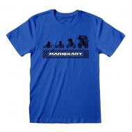Nintendo - T-Shirt Super Mario Kart Silhouette
