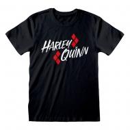 Batman - T-Shirt Harley Quinn Bat Emblem
