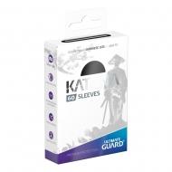 Ultimate Guard - 60 pochettes Katana Sleeves format japonais Noir