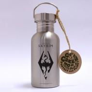 The Elder Scrolls V Skyrim - Bouteille métal Dragon Symbol
