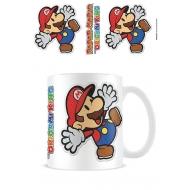 Super Mario Paper - Mug Sticker Mario