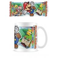 Super Mario Paper - Mug Scenery Cut Out Mario