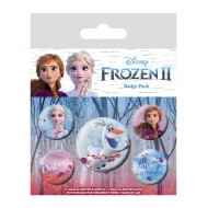 La Reine des neiges 2 - Pack 5 badges Destiny