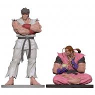 Street Fighter - Statuettes 1/8 Ryu & Dan