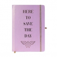 Wonder Woman - Carnet de notes Premium A5 Here to Save the Day