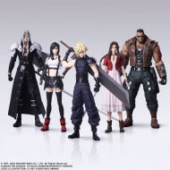 Final Fantasy VII Remake Trading Arts - Pack 5 figurines 10 cm