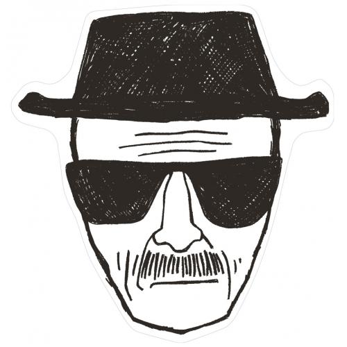 Breaking Bad - Tapis Heisenberg 80 x 84 cm
