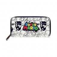 Super Mario - Porte-monnaie Zip Logo Super Mario