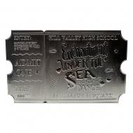 Retour vers le futur - Réplique Enchantment Under The Sea Ticket Limited Edition (plaqué argent)