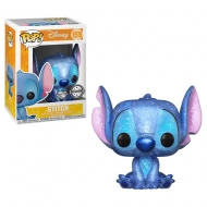 Lilo & Stitch - Figurine POP! Stitch Seated (Diamond Glitter) Exclusive 9 cm