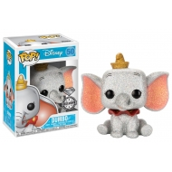 Dumbo - Figurine POP!  Dumbo (Diamond Glitter) 9 cm