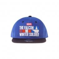 Marvel - Casquette Snapback Logo Le Faucon et le Soldat de l'Hiver