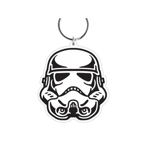 Star Wars - Porte-clés caoutchouc Stormtrooper 6 cm