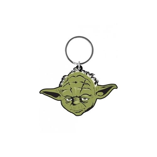 Star Wars - Porte-clés caoutchouc Yoda 6 cm