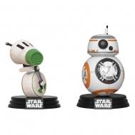 Star Wars Rise of Skywalker - Pack 2 Figurines POP! Bobble Head D-O & BB-8 9 cm