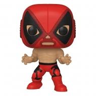 Marvel Luchadores - Figurine POP! Deadpool 9 cm