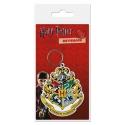 Harry Potter - Porte-clés caoutchouc Hogwart's Crest 6 cm