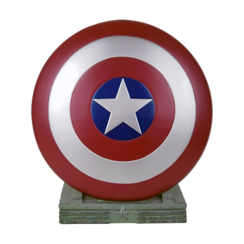 Marvel - Buste tirelire Captain America Shield 25 cm