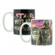 Star Wars The Mandalorian - Mug effet thermique The Mandalorian