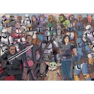 Star Wars The Mandalorian Challenge - Puzzle Baby Yoda (1000 pièces)