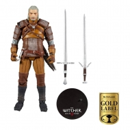 The Witcher - Figurine Geralt of Rivia Gold Label Series 18 cm
