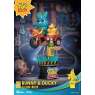 Disney Coin Ride Series - Diorama D-Stage Bunny & Ducky 16 cm