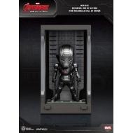 Avengers L'Ère d'Ultron - Figurine Mini Egg Attack Hall of Armor War Machine 2.0 8 cm