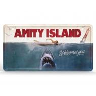 Les Dents de la Mer - Panneau métal Movie Poster
