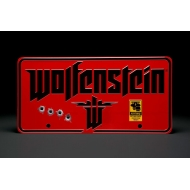 Wolfenstein - Panneau métal The New Colossus