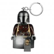 LEGO Star Wars The Mandalorian - Porte-clés lumineux Din Djarin 6 cm