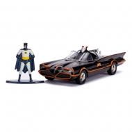 Batman Classic TV Series - Réplique métal 1/32 Classic Batmobile 1966 avec figurine