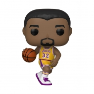 NBA - Figurine POP! Magic Johnson (Lakers home) 9 cm