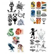 Harry Potter - Set 35 tatouages temporaires