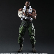 Final Fantasy VII - Figurine Play Arts Kai Barret 28 cm