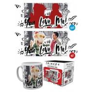Friends - Mug effet thermique You Love Me