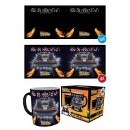 Retour vers le futur - Mug effet thermique Delorean