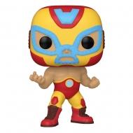 Marvel Luchadores - Figurine POP! Vinyl Iron Man 9 cm