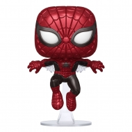 Marvel 80th - Figurine POP! Spider-Man (First Appearance) (Metallic) 9 cm